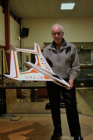 Tony Overton with his Vector 2nd